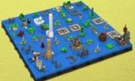 国外玩家用乐高重制《塞尔达传说:风之杖》地图