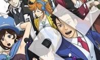 3DS游戏《逆转裁判6》设定画集原画封面今日曝光