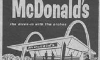 77年前麦当劳第一张菜单曝光 吃麦当劳可是土豪