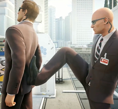 《杀手2》最新预告片放出 杀手47花样越来越多!