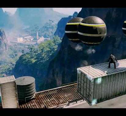《正当防卫4》人类大战飓风 抓钩新玩法亮眼