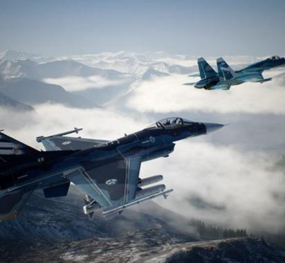 对抗F-15《皇牌空战7》最新战机介绍视频MiG-29A
