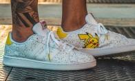 阿迪达斯推宝可梦主题运动鞋 皮卡丘杰尼龟在你脚边