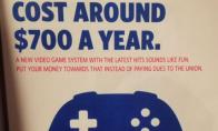 交会费不如买游戏? 美国达美航空宣传海报引争议