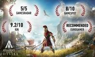 《刺客信条:奥德赛》和《怪物猎人:世界》Steam半价促销