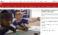 BBC专访英国开设游戏课程学校:游戏加速社会融合