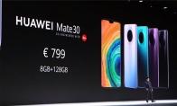 华为Mate 30/Pro售价公布:799欧元起 今晚0点开启预售
