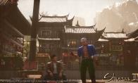《莎木3》全新截图公布 主角和刃武鹰亲密交谈