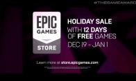 TGA 2019:Epic圣诞促销活动宣布 免费送12天游戏