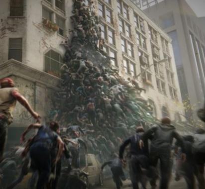 《僵尸世界大战》全新实机宣传片展示僵尸海