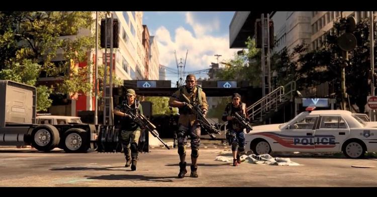 《全境封锁2》最新终局预告片 黯牙组织显露狰容