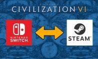 2K为《文明6》追加PC版和Switch版云存档共享功能