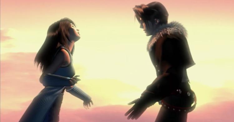 《最终幻想8》新旧版本对比 画面进化妹子更美