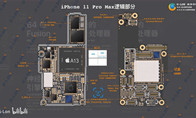 iPhone 11拆解示意图:游戏玩家当心信号表现