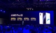 3699元起!小米9 Pro 5G发布:全网通+骁龙855 Plus