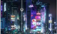 灯红酒绿的夜景!《赛博朋克2077》夜之城新图公开