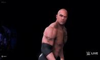 """《WWE 2K20》""""巨石""""强森战斗演示 强森艰难取胜"""