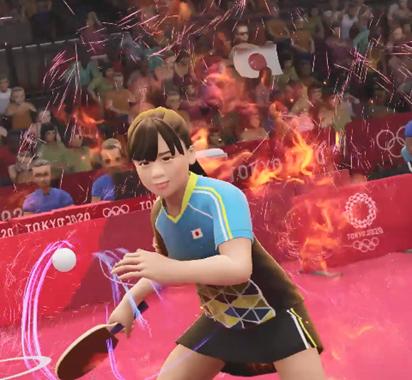 福原爱教你玩乒乓球《2020东京奥运》中文CM