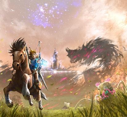 任天堂eShop美服黑五开启《塞尔达传说》降价