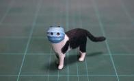 口罩猫手办中国地区所有收益全部捐赠 武汉加油