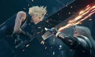 《最终幻想7:重制版》原想做成纯ACT 被反对后做成了半即时战斗