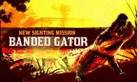 《荒野大镖客OL》全新目击任务 传说条纹短吻鳄上线