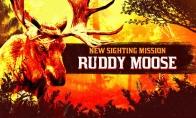 《荒野大镖客OL》目击任务:狩猎淡红驼鹿获取蒙头斗篷