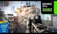 《战地3》4K/最高画质测试:9400F+RTX 3080