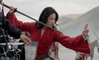 迪士尼真人电影《花木兰》幕后视频 刘亦菲很努力的