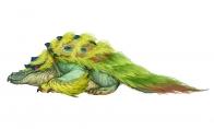 《怪物猎人:崛起》新概念艺术图:河童蛙有点诡异