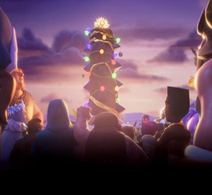 """《部落冲突》&《皇室战争》""""滚木圣诞节"""" 狂欢开场"""