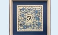 《哆啦A梦》50周年纪念浮世绘公开 制作精良工艺繁杂