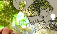 高玩展示最新《犬夜叉》剪切背景画 创意独特别有韵味