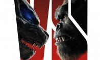 《哥斯拉大战金刚》新海报 两只巨兽近距离对视