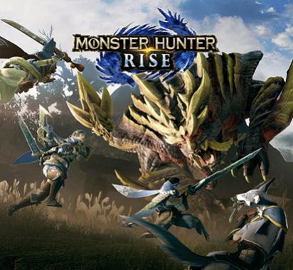 《怪物猎人:崛起》新战斗演示操虫棍降龙