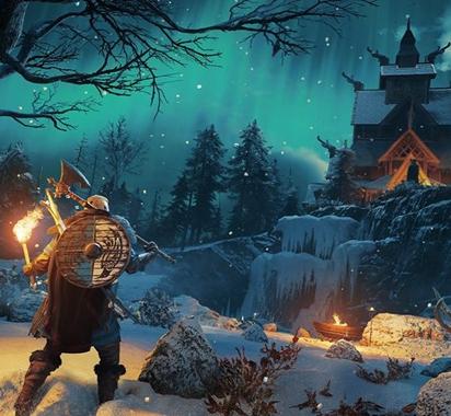 《刺客信条:英灵殿》德鲁伊之怒DLC截图