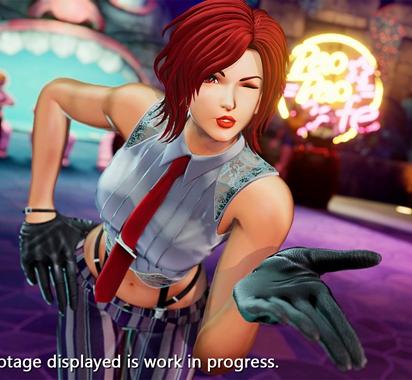 《拳皇15》温妮莎角色影像公布 隐秘特工队