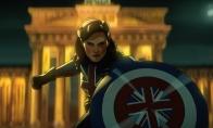 漫威动画剧《假如》曝新预告 英国女队长来了