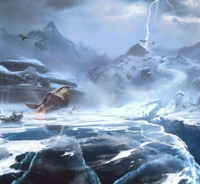 《战神:诸神黄昏》新艺术概念图 大战即将展开