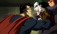 游戏改编动画《不义联盟》血腥新预告 大超手贯穿小丑