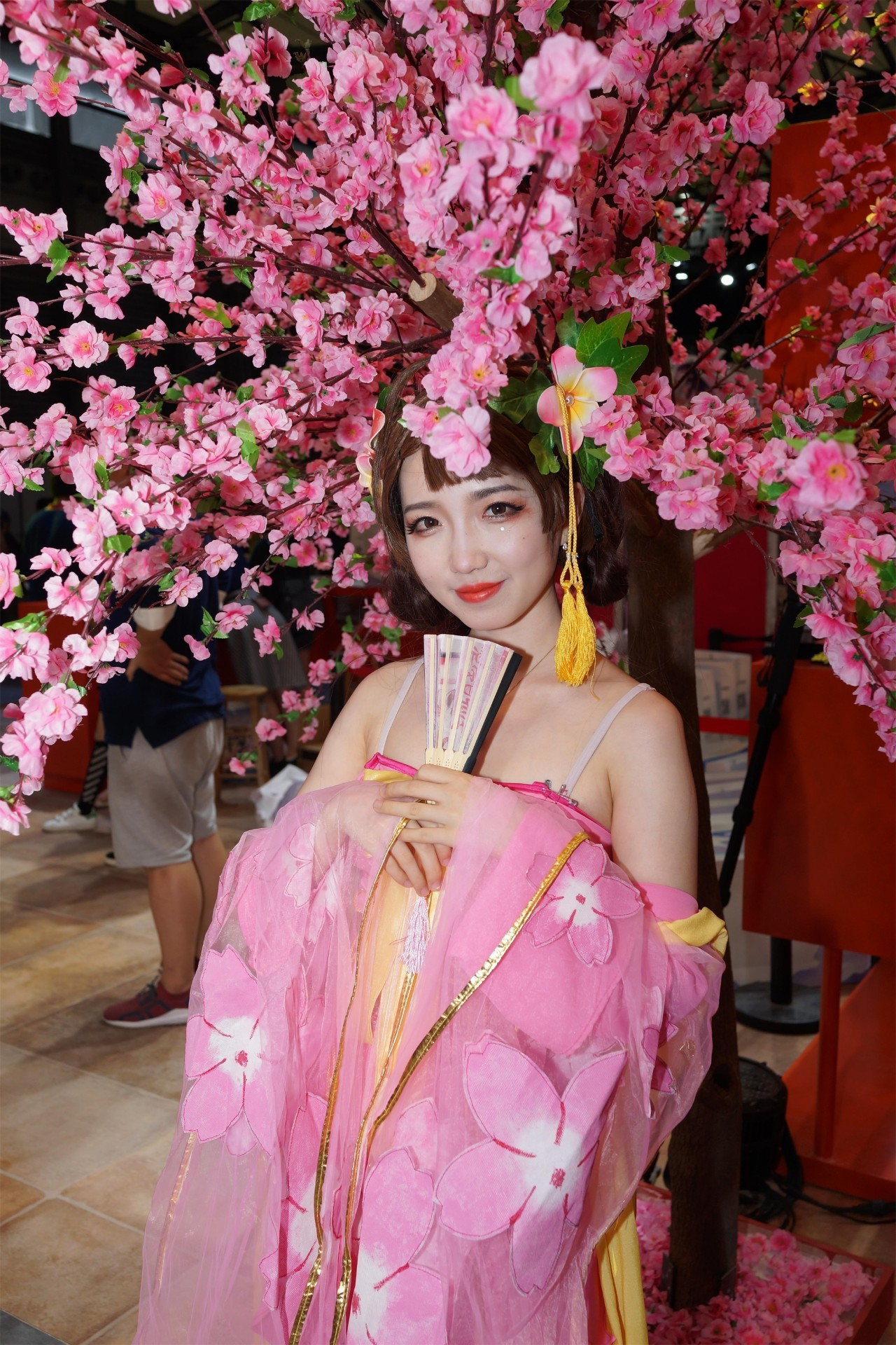 游戏资讯_Chinajoy2018古风美女图集_3DM单机