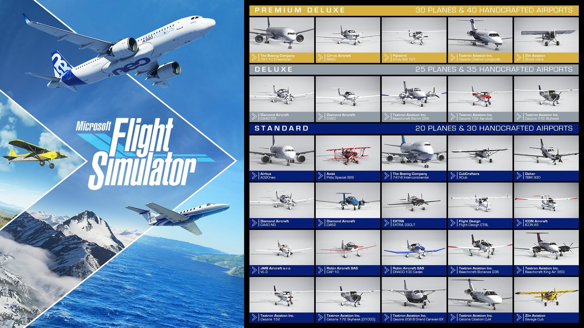 微软飞行模拟2020(Microsoft Flight Simulator)模拟飞行2020