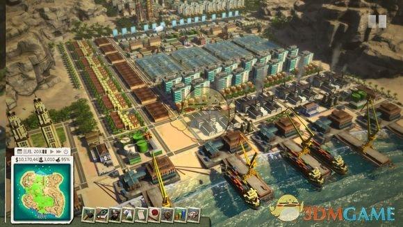 《海岛大亨5》城市怎么规划 城市规划发展心得分享图片
