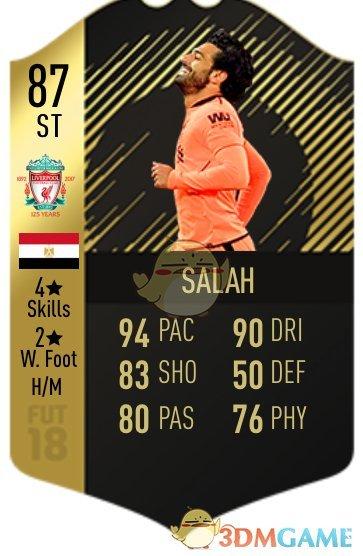 《FIFA 19》球员色卡详情一览