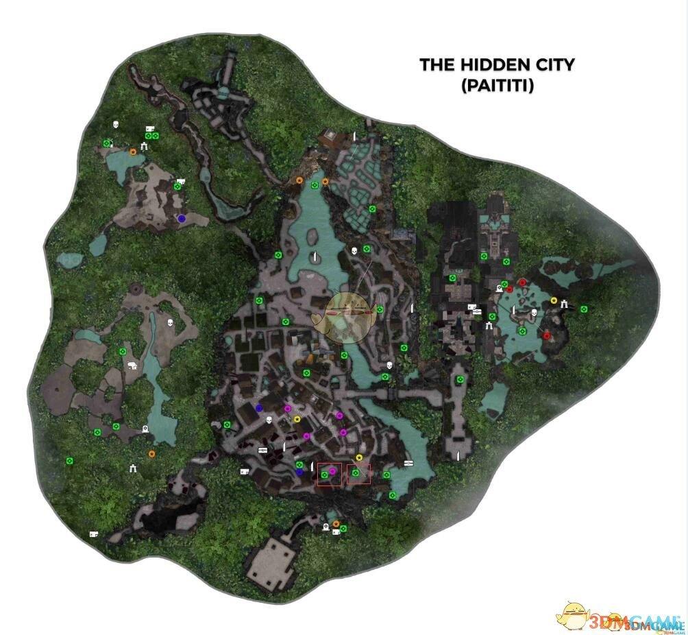 《古墓丽影:暗影》隐秘之城七只金鸟石碑在哪 七只金鸟位置图文攻略