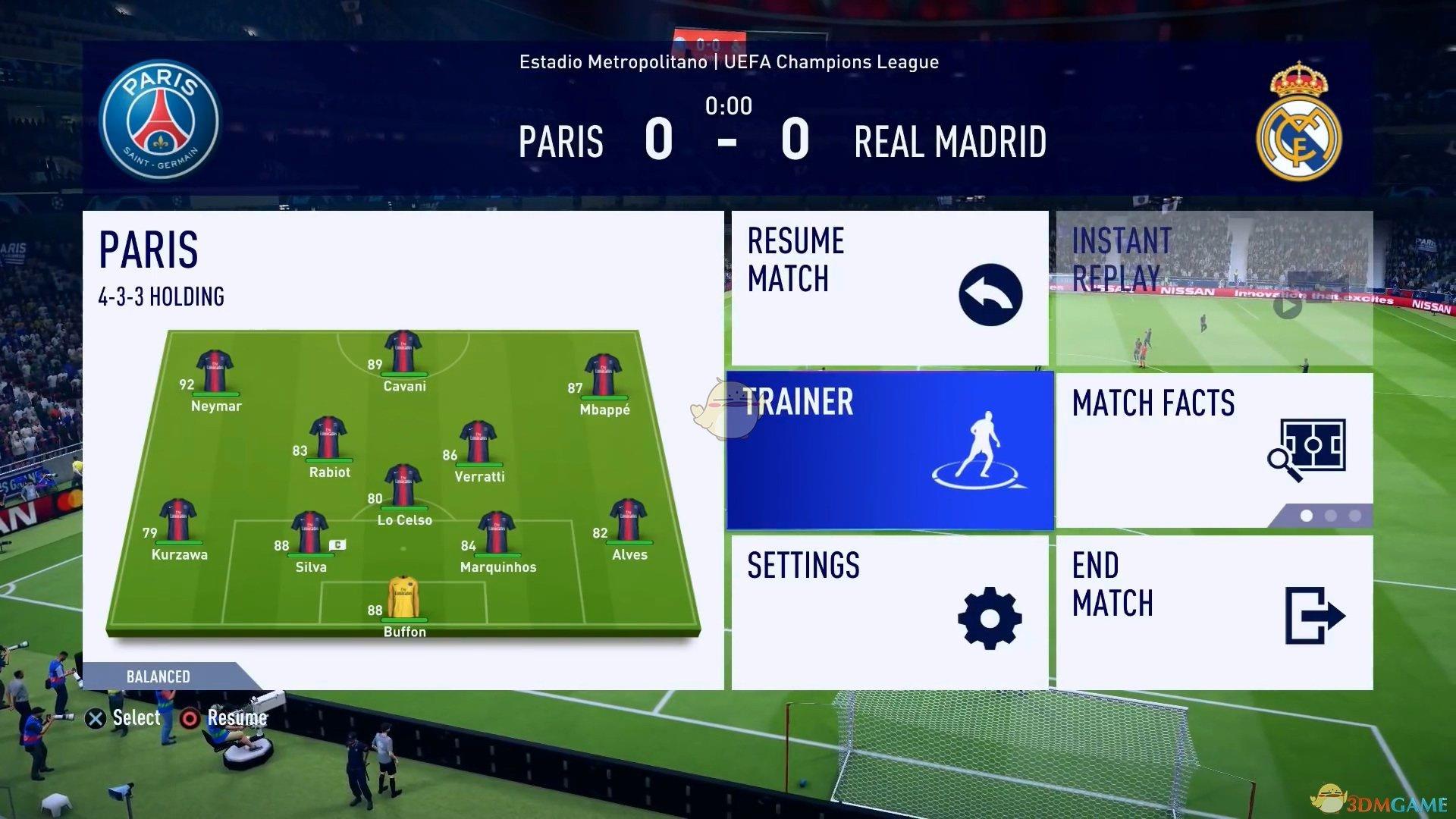 《FIFA 19》时机射门使用心得