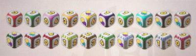 《超级马里奥派对》全骰子数据一览