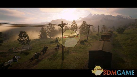 《荒野大鏢客2》最新宣傳預告片分析