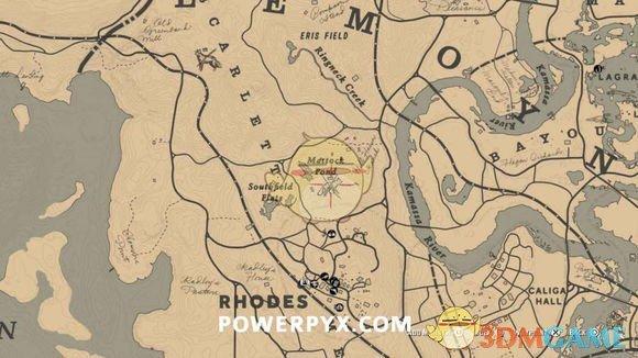《荒野大镖客2》全传奇动物位置分享