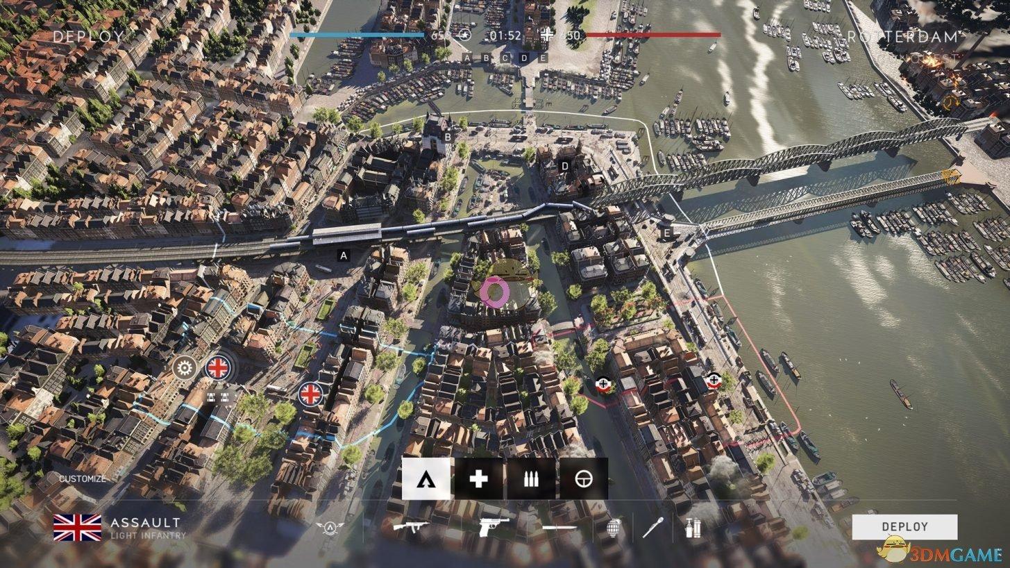 《战地5》鹿特丹地图怎么打?鹿特丹地图战略解析